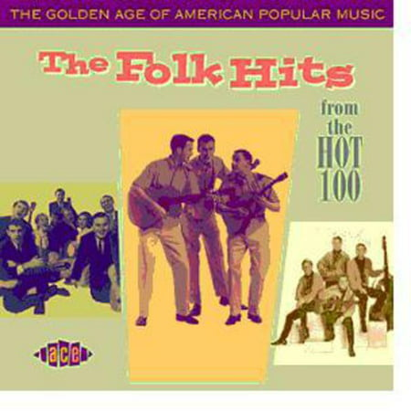 The Golden Age Of American Popular Music: The Folk Hits (CD)