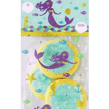 - Mermaid 'Mermaid Wishes' Deluxe Favor Bag Kit for 20 (40pc)