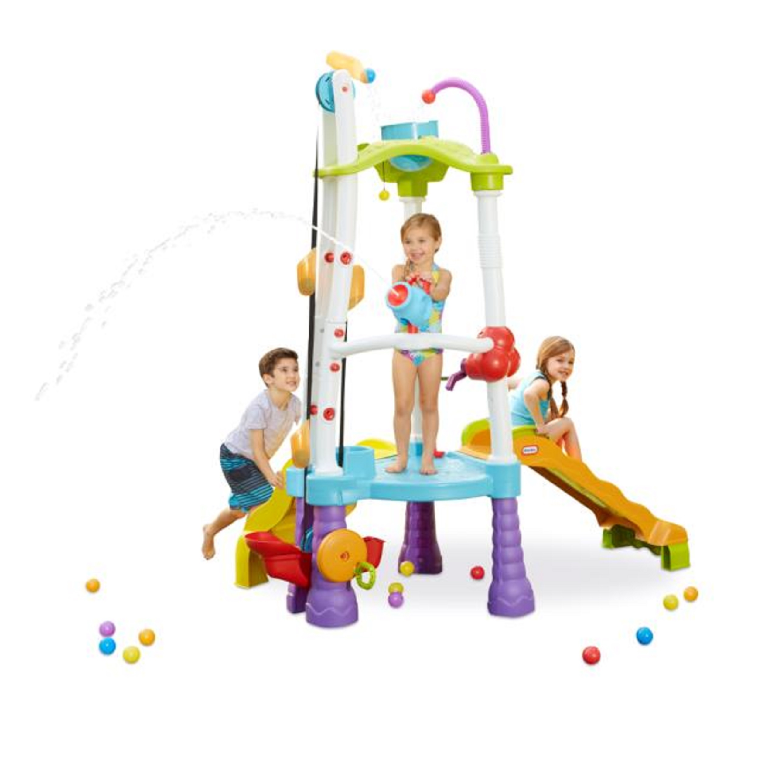 Little Tikes Fun Zone Tumblin\' Tower Climber, Indoor/Outdoor ...