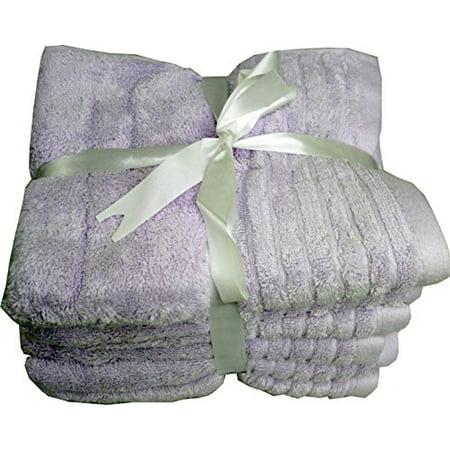"Beauty Buddy 6Piece 100% Cotton Hand Towel Set 16""X28"""