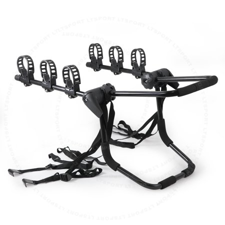 fit 96 02 ford car van rear trunk 3 bike mount bicycle rack carrier. Black Bedroom Furniture Sets. Home Design Ideas