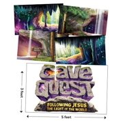 VBS-Cave Quest-Giant Decorating Poster Pack (Set Of 5)
