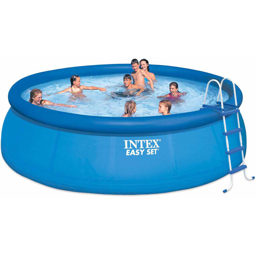 Intex Easy Set Pool Set, 15-Feet by 48-Inch, Blue
