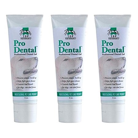 ProDental Oral Gel For Dogs & Cats - Promotes Strong Teeth & Soothes Gums 4 oz(3