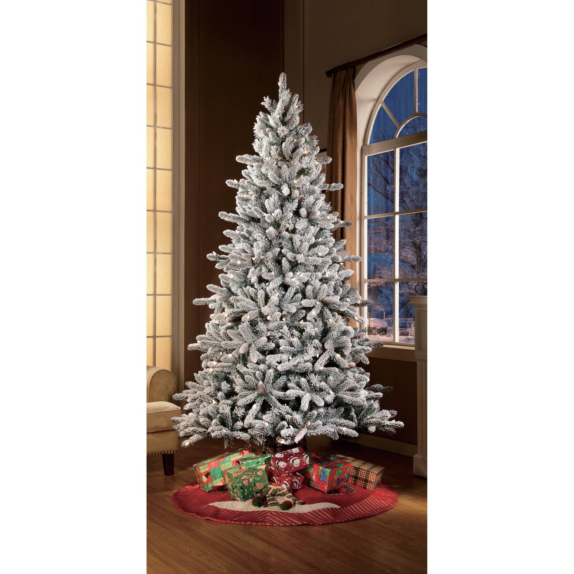 White Christmas Trees - Walmart.com