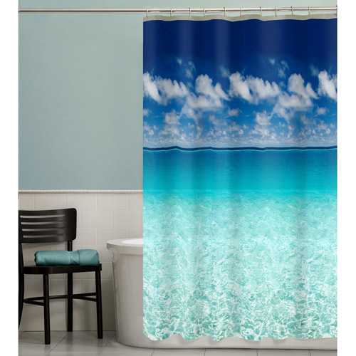 Maytex Escape Photoreal PEVA Shower Curtain by Maytex Mills