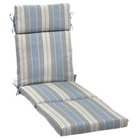 Outdoor Chaise Lounge Cushion With Enviroguard