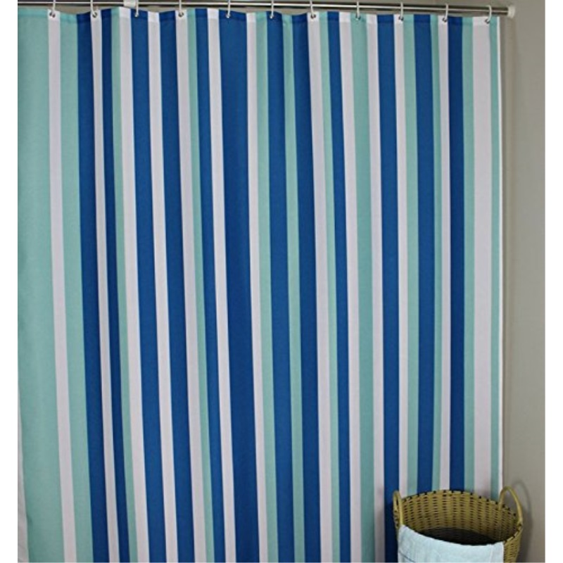 Extra Long 96 Inches Shower Curtain Welwo Mildew Resistant Shower