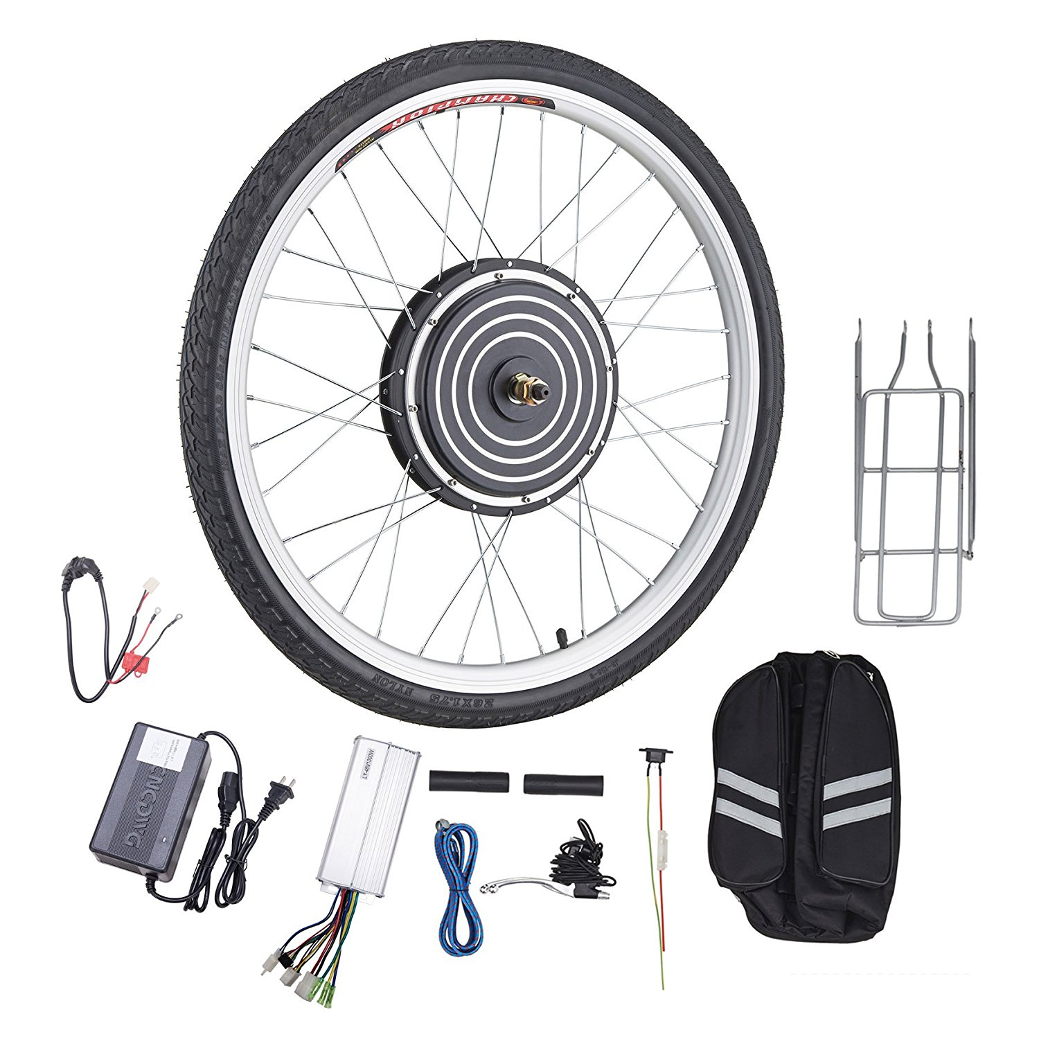 "26"" Electronic Bike Conversion Kit Hub Motor 48V 1000W (Front Wheel)"