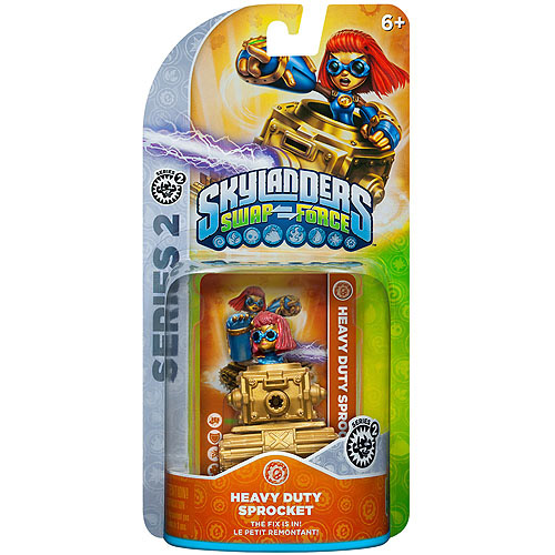 Skylanders Swap Force Heavy Duty Sprocket S2 Character Pack (Universal)