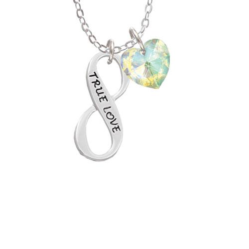 "True Love Infinity Sign  - Butterfly Sophia Necklace, 18""+1"""