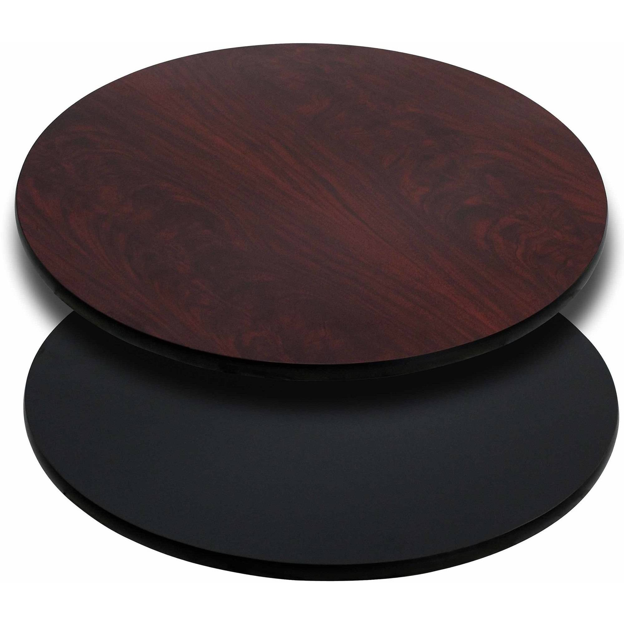 "Flash Furniture 30"" Round Table Top with Reversible Laminate Top, Multiple Colors"