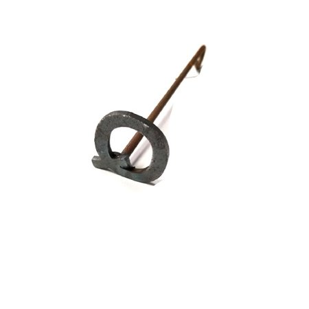 R & W Metal (Letter Q) Branding Iron (Kensington Metal Letter)