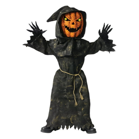 Bobble Head Pumpkin Child Halloween Costume