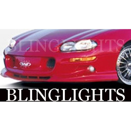 1998 1999 2000 2001 2002 Chevrolet Chevy Camaro Wings West Body Kit Xenon Driving Fog Lamps (2002 Prelude Wings)
