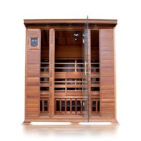 4-Person Rectangular Cedar Sauna
