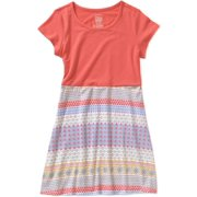 Girls' Graphic Fit and Flare Dress