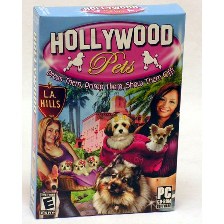 Hollywood Pets: The Glitz, Glam & Gorgeous PC CD- Choose from Chihuahuas, Toy Poodles, Bischon Frise, Shih Tzus and