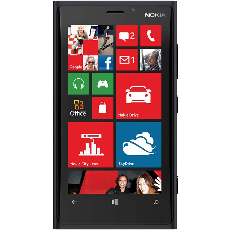 Refurbished Nokia Lumia 920 Smartphone (Unlocked), Black