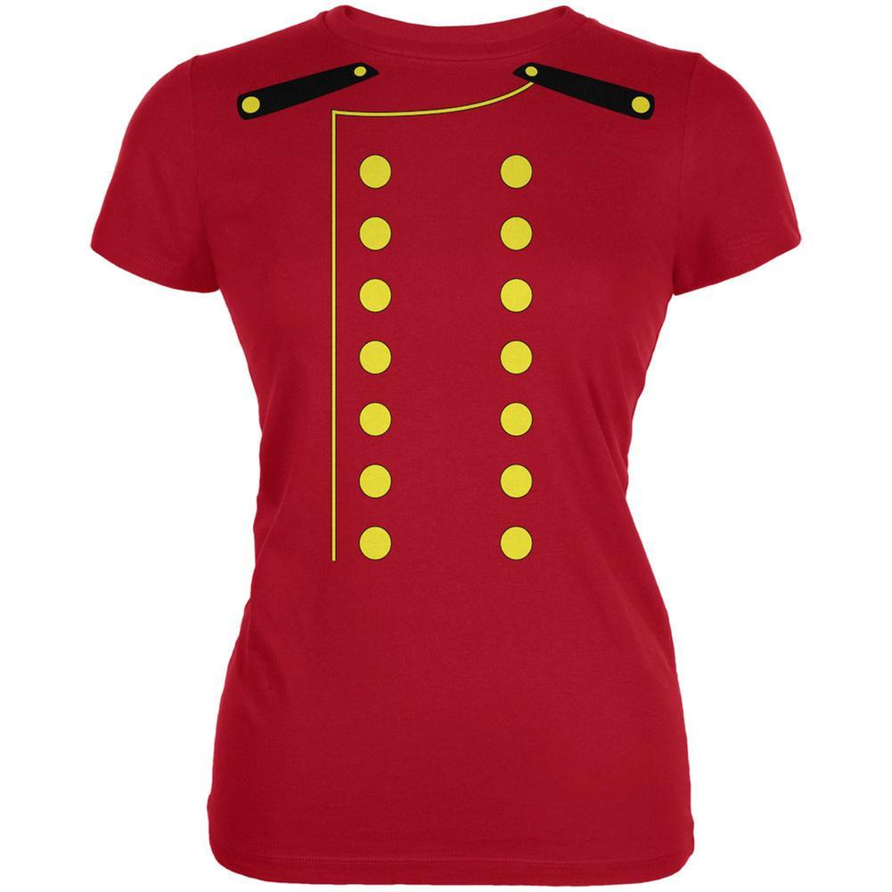 halloween hotel bellhop costume red juniors soft t-shirt