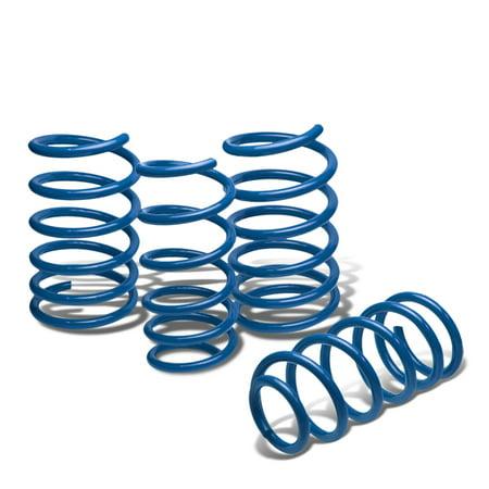For 2004 to 2007 Subaru WRX / STi Suspension Lowering Springs Set (Blue) - GD GG 05