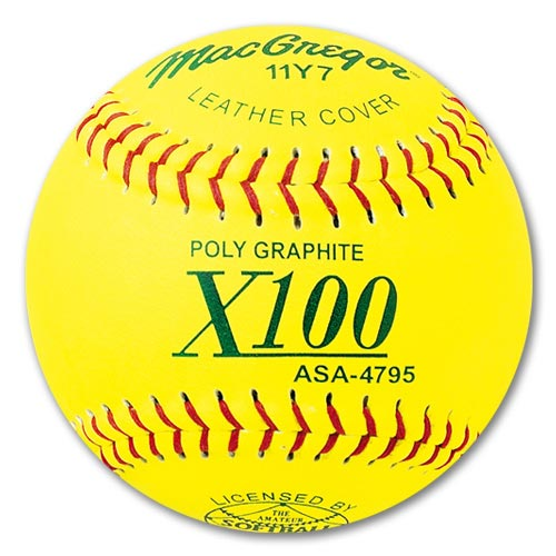 MacGregor ASA-Approved Fastpitch Softballs, 1 Dozen