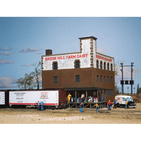 Hull Kit - Walthers Cornerstone HO Scale Building/Structure Kit Brook Hill Farm Dairy