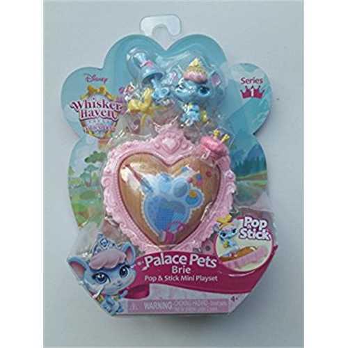 Palace Pets Brie Pop & Stick Mini Playset Disney Whisker Haven Series 1