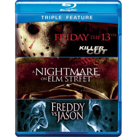 FRIDAY THE 13TH/NIGHTMARE ON ELM STREET/FREDDY VS JASON (BLU-RAY) (Blu-ray)](best black friday blu ray deals)