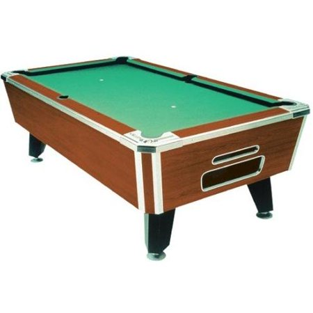 Valley Tiger Pool Table with Ball Return Table Size: Tiger 93-Inch Table