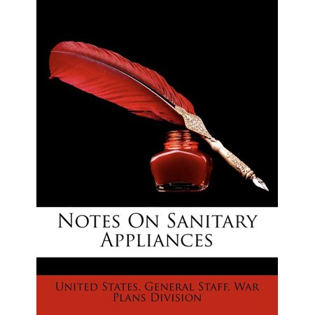 Notes on Sanitary Appliances Notes on Sanitary Appliances