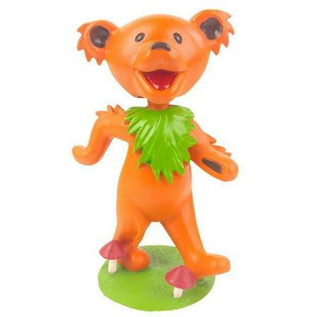Grateful Dead Dancing Orange Bear Bobblehead Kollectico