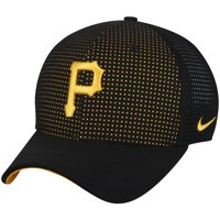 Pittsburgh Pirates Nike AeroBill Classic 99 Performance Adjustable Hat - Black - OSFA