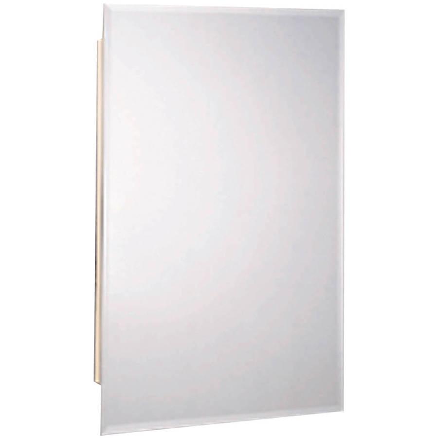 Zenith M119 White Beveled Swing Door Medicine Cabinet by Zenith Products