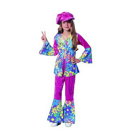 Child Flower Power Costume Franco American Novelties 49038](Flower Costum)