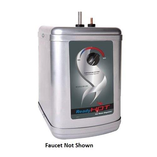 RH-200-F560-CH Stainless Steel Hot water Dispenser System with Chrome Dual Lever Faucet