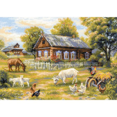 Afternoon in The Country Counted Cross-Stitch Kit, 19.75