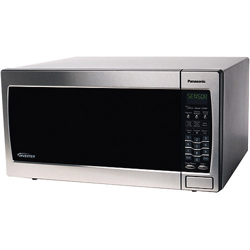 Panasonic 1 6 Cubic Foot Stainless Steel Microwave Oven