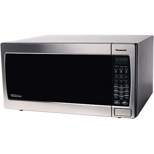 Panasonic 1 6 Cubic Foot Stainless Steel Microwave Oven With Inverter Technology