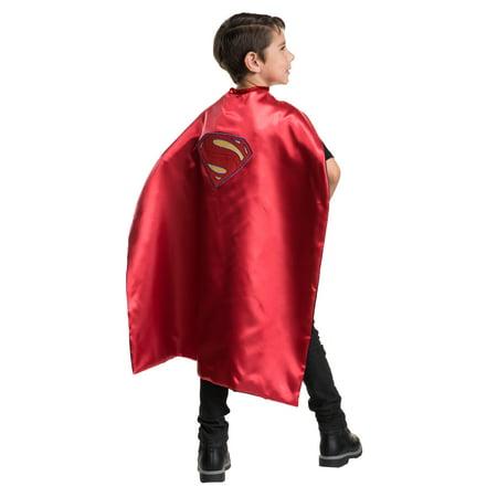 Boys Justice League Superman Cape - Size One - Superman Capes