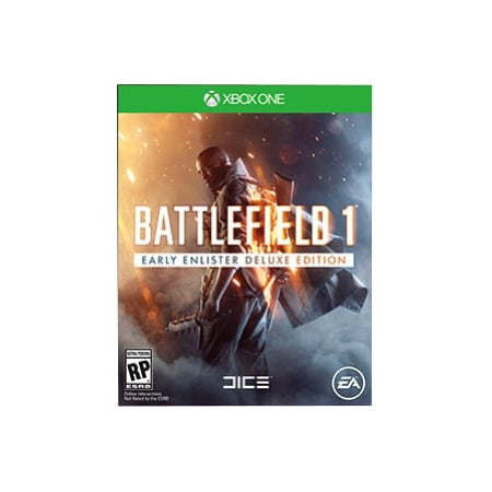 Battlefield 1 Deluxe Edition, Electronic Arts, PlayStation 4, 014633371208