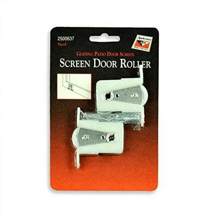 andersen screen door rollers - gliding patio door screen 1 pair by andersen windows ()