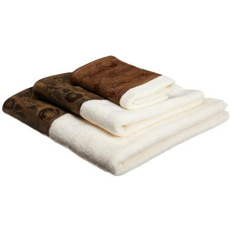 Zambia Copper - 3-Piece Popular Bath Bathroom Pool, Hand, Wash Towel Set (Hang Bathroom Towels)