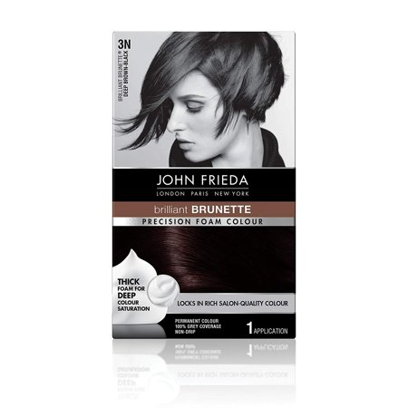 Precision Foam Colour, Deep Brown Black 3N John Frieda
