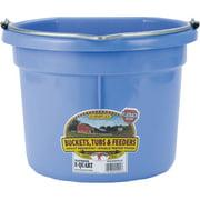 Miller Mfg Co Inc P-Little Giant Plastic Flat Back Bucket- Berry 8 Quart