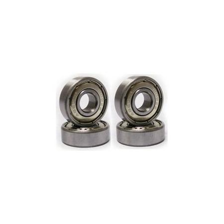 Bearings Blue Shield - 10 Bearing 608ZZ Shielded 8x22x7 Miniature Ball Bearings