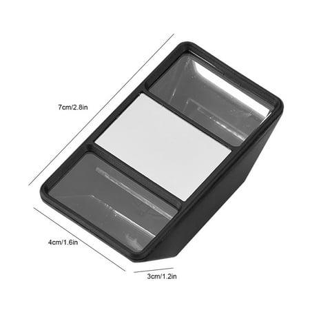 WALFRONT 3D Lens VR Phone Stereoscopic Camera Universal External Mini Lens  for Cellphone Tablet , Cellphone Camera Lens, Mini Camera Lens