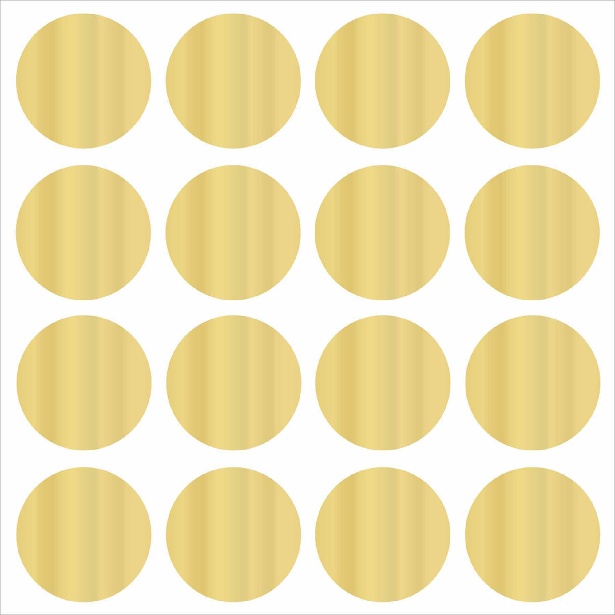 Wall Pops Gold Confetti Dots Decals
