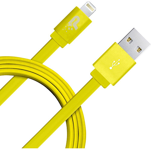 Patriot Lightning Flat Cable, 3.3', Yellow
