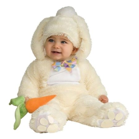 Costumes For All Occasions Ru885733Is Vanilla Bunny Costume 6-12 Mos - Vanilla Girl